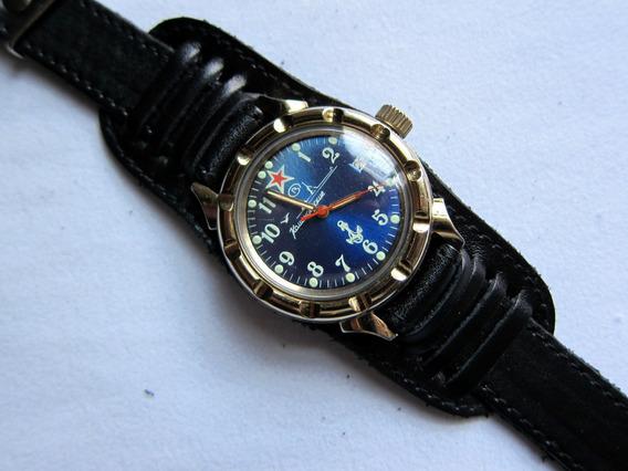 Reloj Vintage Ruso Militar Vostok Komandirskie Automático