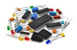 Lote De Componentes Eletronicos (led, Resistor, Clip, Chave)
