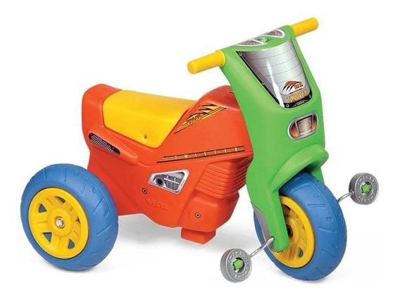 Triciclo Moto Andador Con Pedal Twister Plastico Cuotas