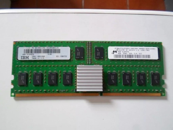 Memoria Ibm Power 6 570 4gb Ddr2 533mhz Cl4 Ecc
