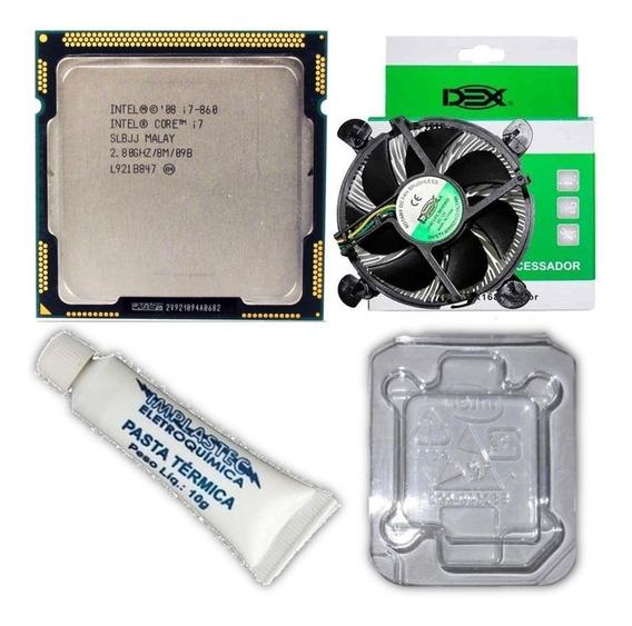 Processador Core I7 860 Lga 1156 3.46ghz 8mb Cache G1 Cooler