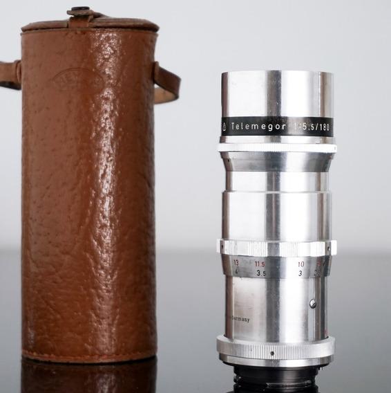 Lente Meyer Telemegor 180mm 15 Lamin.+adapt. Novo Sony-nex