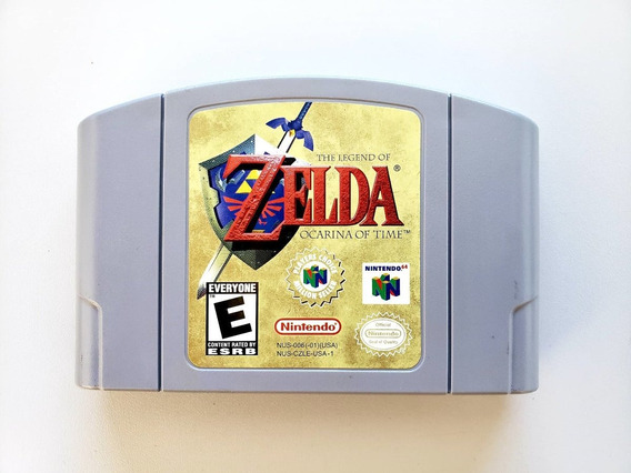 The Legend Of Zelda Ocarina Of Time Original N64 Nintendo 64