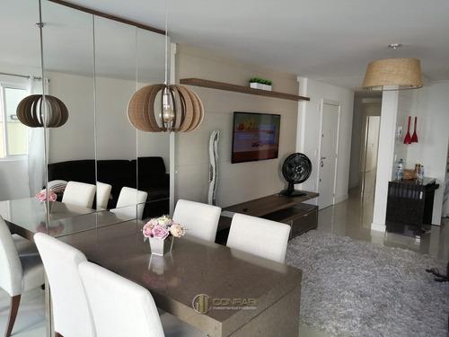 Apartamento 02 Suítes E 02 Vagas, Meia Praia!! - Ap1136-1