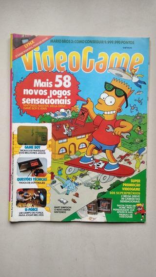 Revista Video Game 4 Mario Bros 3 Simpsons Game Boy E188