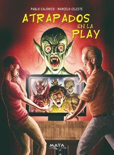 Libro Terror (inf/juv) Atrapados En La Play. Editorial Maya