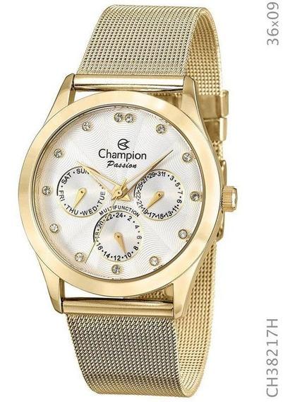 Relógio Champion Feminino Fourado Passion Ch38217h