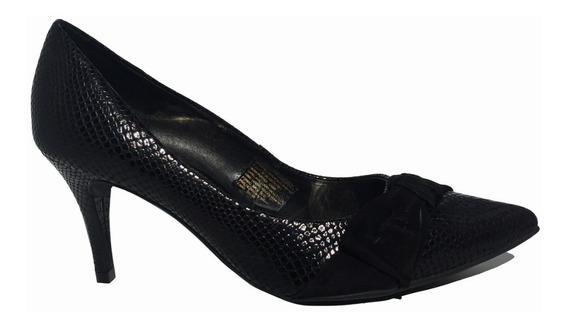 Zapato Stiletto Mujer Hush Puppies En Punta Base Goma