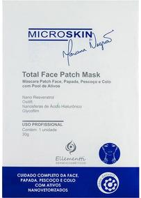 Máscara Facial Hidratante - Ácido Hialurônico - Total Face