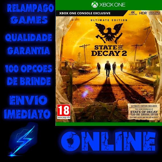 State Of Decay 2 Edição Suprema - Xbox One Online + Brinde