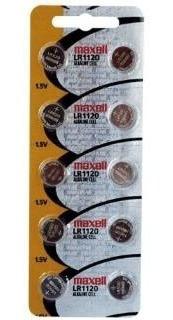 Bateria 1,5v Lr1120 Maxell Original (cartela 10 Unid)