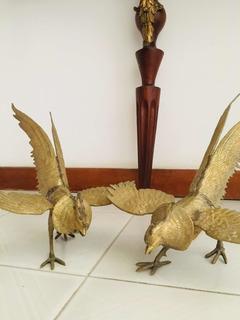 Gallos De Pelea En Bronce Ref.350