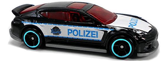 Hot Wheels Porsche Panamera Polizei Rosario