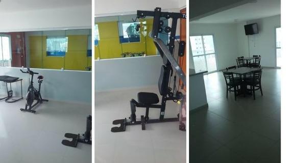 Apartamento Com 2 Dormitórios Para Alugar, 85 M² Por R$ 3.500/mês - Campo Grande - Santos/sp - Ap7713