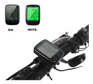 Velocímetro De Bicicleta Digital Wireless Preto