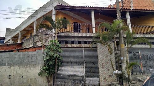Casa/sobrado Em Santo Estevão  -  Carapicuíba - 25877