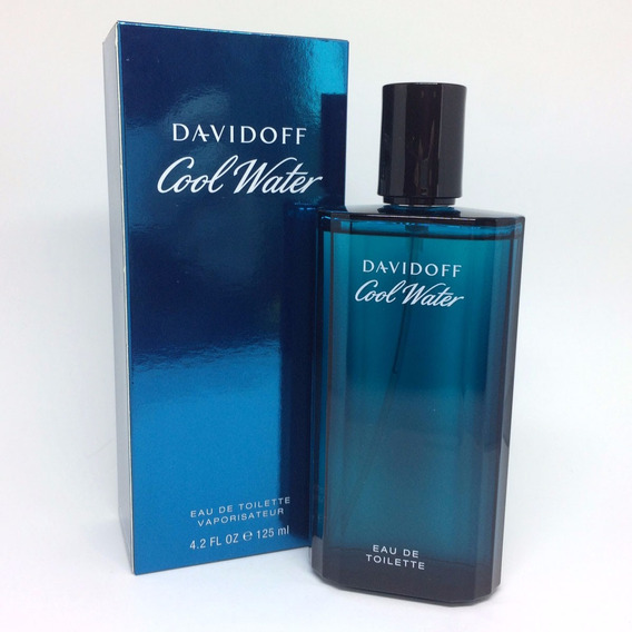 Davidoff Cool Water 125ml Masculino + Amostra De Brinde