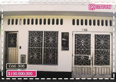 Se Vende Casa De Dos Apartamentos Código: 306, Florencia.