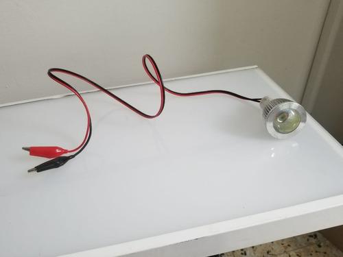 Carro Moto Bateria Led Luz De Emergencia