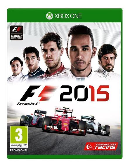 Jogo Xbox One Formula 1 F1 2015 Original Lacrado Portugues