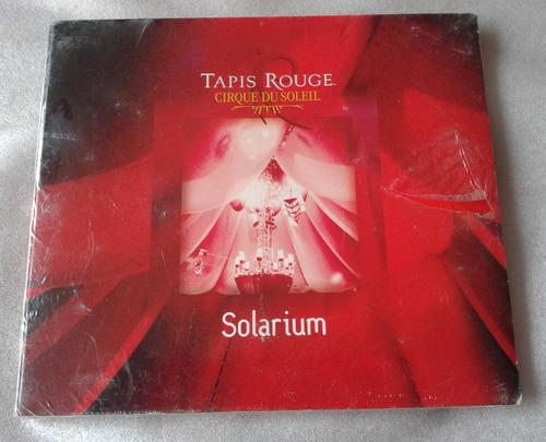 Imagen 1 de 2 de Cirque Du Soleil Solarium Cd Digipack Nuevo Sellado Fabrica