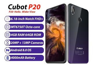 Cubot P20 4g Teléfono Móvil 4000mah 4g/64gb Azul