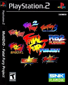 Patch Ps2 - Fatal Fury Project (fatal Fury 1, 2 E 3)