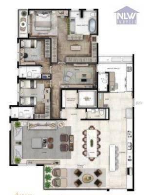 Imagem 1 de 12 de Apartamento À Venda, 222 M² Por R$ 3.749.633,00 - Perdizes - São Paulo/sp - Ap3159