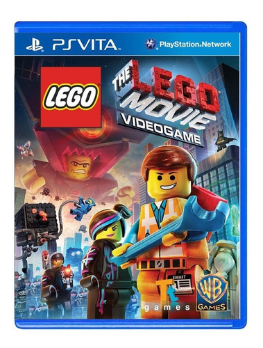 Lego The Lego Movie Video Game - Ps Vita - Usado - Original