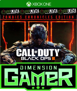 Call Of Duty Black Ops 3 E Zombie Xbox One No Codigo Off-lin