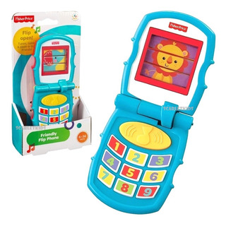 Fisher Price Telefono Sonidos Divertidos Mattel Scarlet Kids