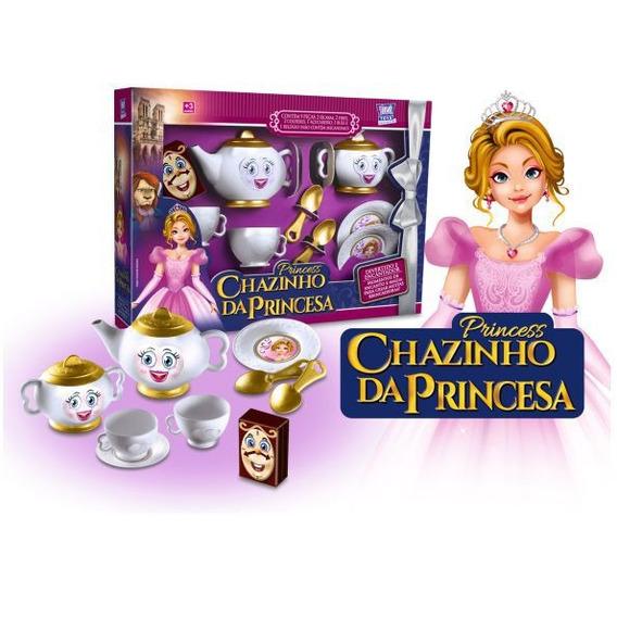 Brinquedo Infantil Jogo De Cha Chazinho Da Princesa Oferta