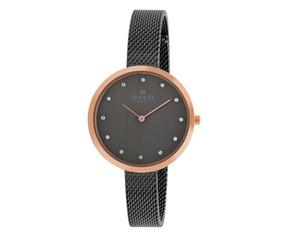 Relógio Oslo Oftsss9t0008 G1gx Slim Cinza Original