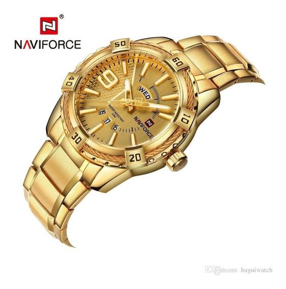 Relógio Naviforce 9117 Militar Esportivo Original Promoção