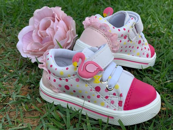Tênis Infantil Flamingo Loli Kids