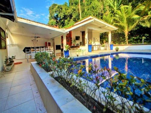 Casa Com 5 Dormitórios À Venda, 260 M² Por R$ 1.200.000,00 - Balneário Praia Do Pernambuco - Guarujá/sp - Ca0301 - 34711472