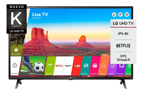 Smart Tv 4k 43 Lg 43uk6300psb