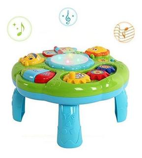Mesa De Aprendizaje Musical Baby Toy - Juguetes Educativos E
