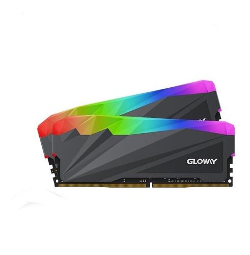 Imagem 1 de 3 de Memória Ram Com Rgb Gloway Sheen Series 2x8gb 3200mhz Ddr4