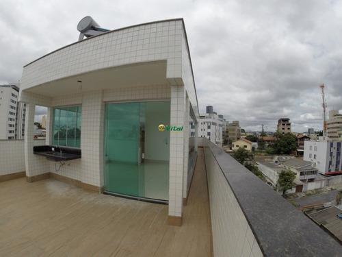 Cobertura Com 4 Quartos Para Comprar No Ipiranga Em Belo Horizonte/mg - Vit4360