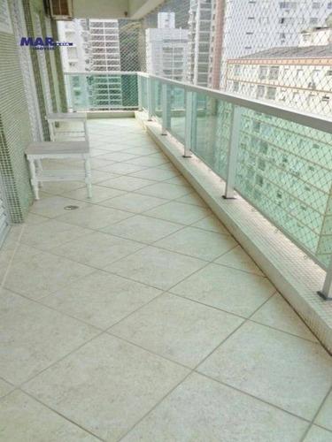 Imagem 1 de 20 de Apartamento Residencial À Venda, Barra Funda, Guarujá - . - Ap10383