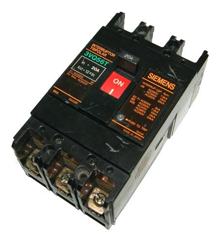 Breaker 20 Amp - 3vq56t Siemens Cod. 01822