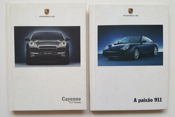 Lote. Livros Descritivos Da Porsche Cayenne 0 3º E 911
