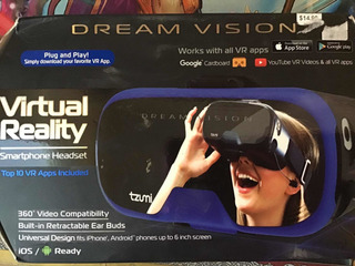 Tzumi Dream Visión Virtual Reality Smart Phones