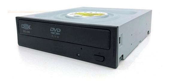 Gravador Dvd Sata Dex Dg-200 Preto