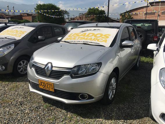Renault Logan Privilege 1.6cc 16v Mt Gris 2017 Jcq271