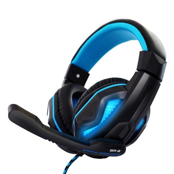 Fone Headset Gamer Bright 0467 Microfone Pc 2 Plugues 3,5mm