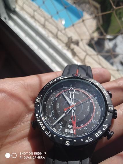 Relógio Timex Intelligent Quartz Maré, Temperatura E Bússola