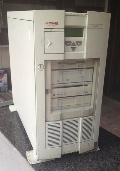 Servidor Compaq Proliant 1600