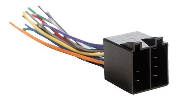 Conector Som Macho 16 Vias Para Cd Player Dvd Pacote 10 Unid